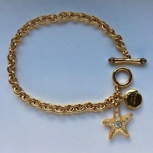 🌟👑Juicy Couture Gold Starfish Bracelet